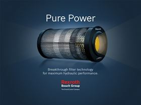 Bosch Rexroth has introduced a new range of hydraulic filter elements.