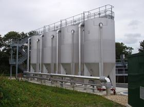 The DynaSand filtration unit