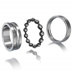 A roller bearing comprises one outer ring and one inner ring with caged rolling elements – balls, pins or cylinders – sandwiched between the two that move on tracks. (Images courtesy Schaffler Technologies AG & Co. KG)