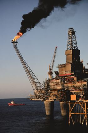 Figure 2. Oil and gas platforms need dependable, consistent water supplies.