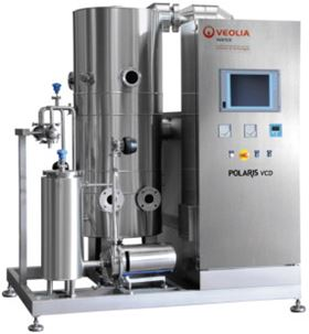 Figure 3. The POLARIS VCD is a vapour compression distiller.