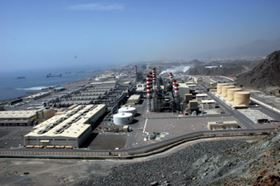 Fujairah I MSF-RO Hybrid Desalination Plant. Courtesy of William Chang, Emirates Sembcorp Water and Power Company.