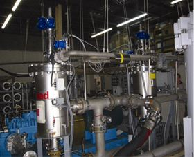 Figure 3. Well-designed multi-stage filtration systems — like in this small US seawater desalination plant — can make every step of the water filtration process more efficient.
