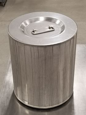 The high-strength radial flow HEPA filter developed by Porvair Filtration Group.