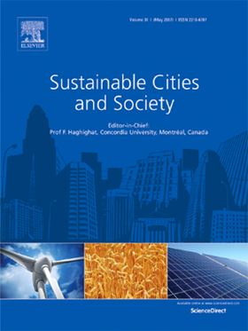 Elsevier journal Sustainable Cities and Society.