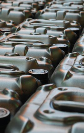 High quality fuel oil can be processed from waste oil.