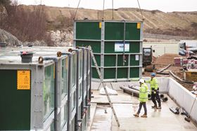The wastewater treatment plant will cater for approximately 40,000 people.