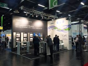 GKD booth at Filtech, Cologne, Germany, October 2016. Image courtesy of GKD.