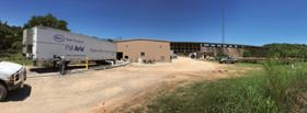 Pall Water's Aria FAST mobile water treatment unit deployed in Cisco, Texas.