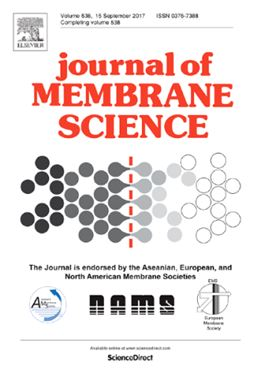 Elsevier's Journal of Membrane Science.