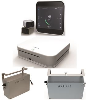 MANN+HUMMEL'S OurAir brand products are based on smart devices, where air quality monitors, filters, purification and ventilation system integrate with the OurAir digital platform.