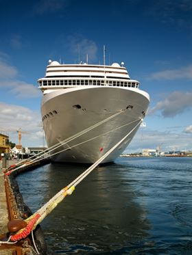 Figure 1. Cruise ships can require up to 260,000 gallons of fresh water every day.