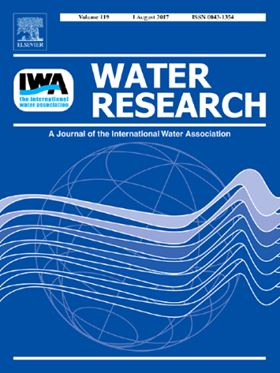 Elsevier journal Water Research.