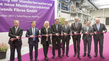 Evonik expands membrane production capacity in Austria