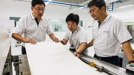 Nano Sun launches Singapore's first 3D-printing plant for water filtration membranes