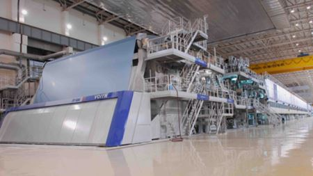 Wood pulp and paper: Water reuse drives Chinese paper mill