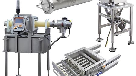 Eriez introduces two metal detector/magnetic separator systems