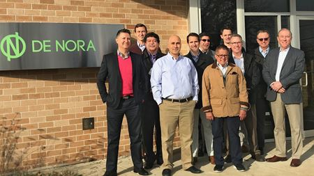 De Nora strengthens Americas sales team