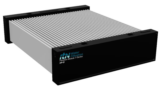 An ItN Nanovation module which contains the company's ceramic flat membranes.