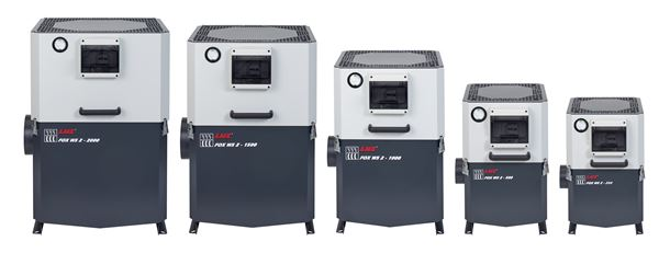 The FOX WS 2 air filtration range promises efficient filtration, ease of maintenance and low energy consumption.