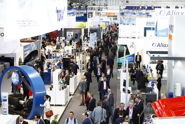 Everything is gearing up for a spectacular week starting October 30th with the opening at the end of the day and the start of Aquatech Amsterdam and Floodex Europe on the 31st.